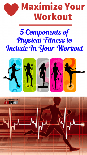 5 Components of Fitness Infographics