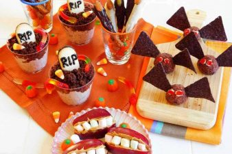 10 spooky recipes healthy halloween treats