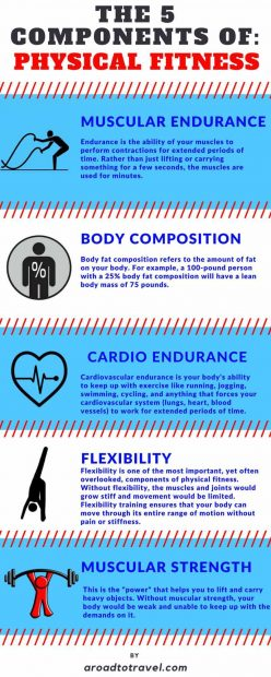 5 Basic Components of Physical Fitness for Fast Weight Loss -