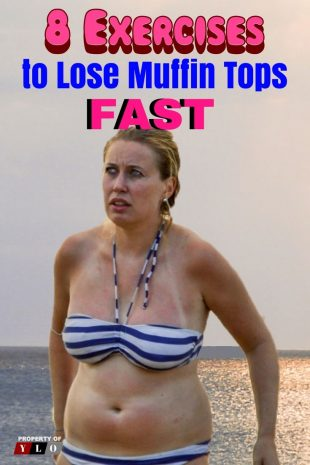 8 Exercises to Lose Muffin Top Fast