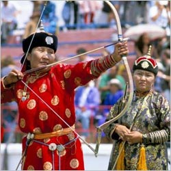 Archery - Naadam The Olympics of Mongolia
