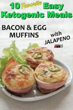Bacon Egg Muffins with Jalapeno