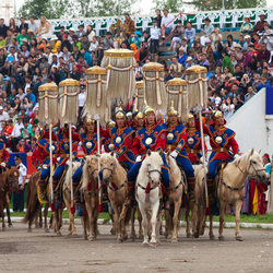 Naadam Ulan - Naadam The Olympics of Mongolia