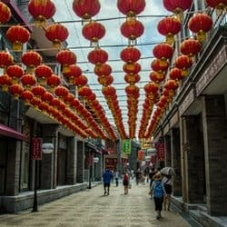 New Walking Street - Medical Tourism to China