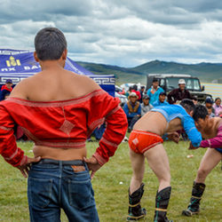 Wrestling - Naadam The Olympics of Mongolia