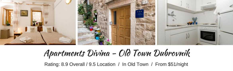 Apartments Divina, Dubrovnik, Croatia