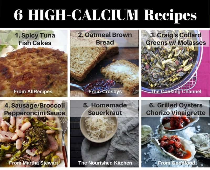 6 High Calcium Recipes