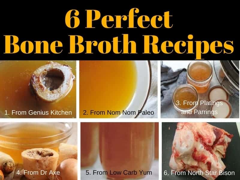 6 Recipes For Perfect Bone Broth
