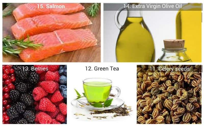 FOODS TO FIGHT INFLAMMATION: #15 through #11
