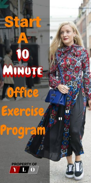 10-Minute Office Exercise Program