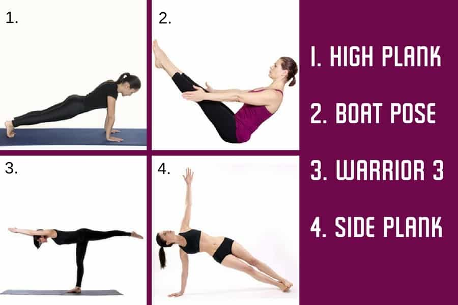 6 Minute Abs Yoga Workflow