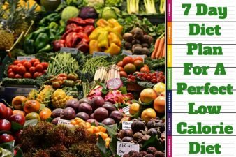 7 Day Diet Plan For A Perfect Low Calorie Diet