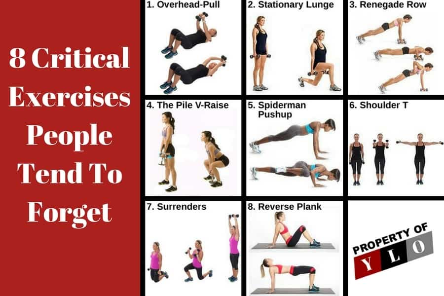8 Critical Exercises People Forget