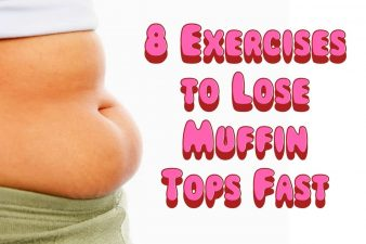 8 Exercises to Lose Muffin Tops Fast
