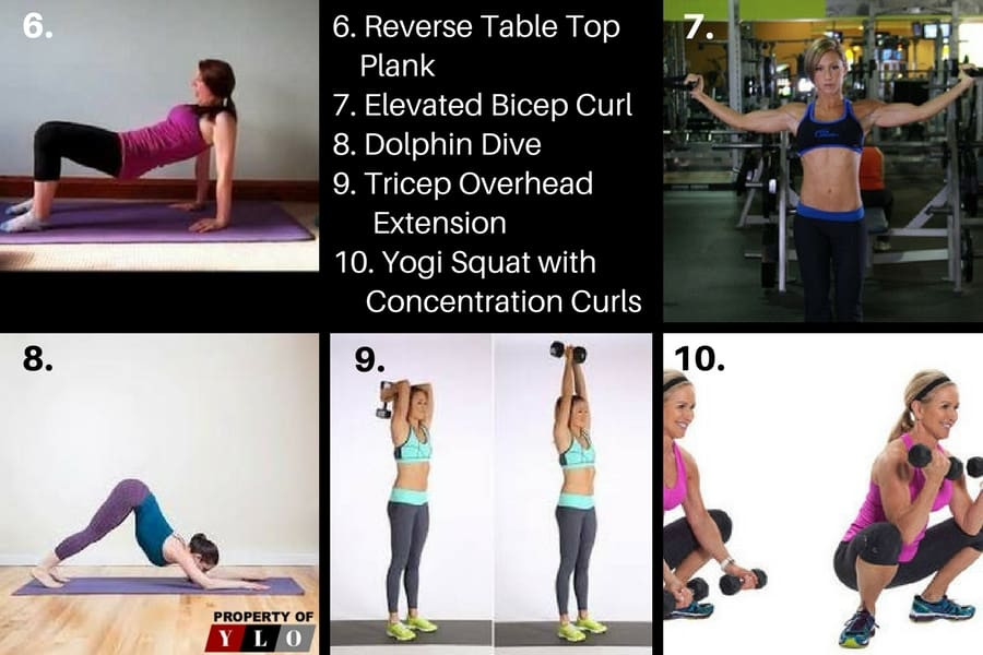 Remove Arm Fat Fast with 10 Quick Exercises 6-10