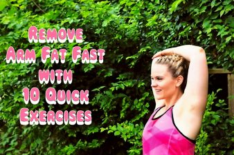 Remove Arm Fat Fast with 10 Quick Exercises