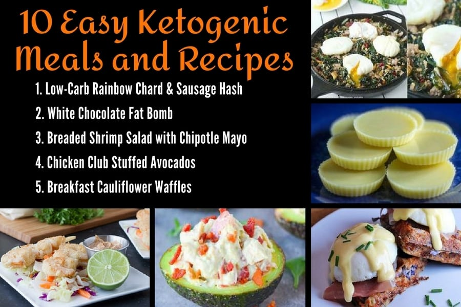 10 Easy Ketogenic Meals and Recipes 1-5