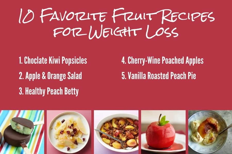 10 Favorite Fruit Recipes for Weight Loss 1-5