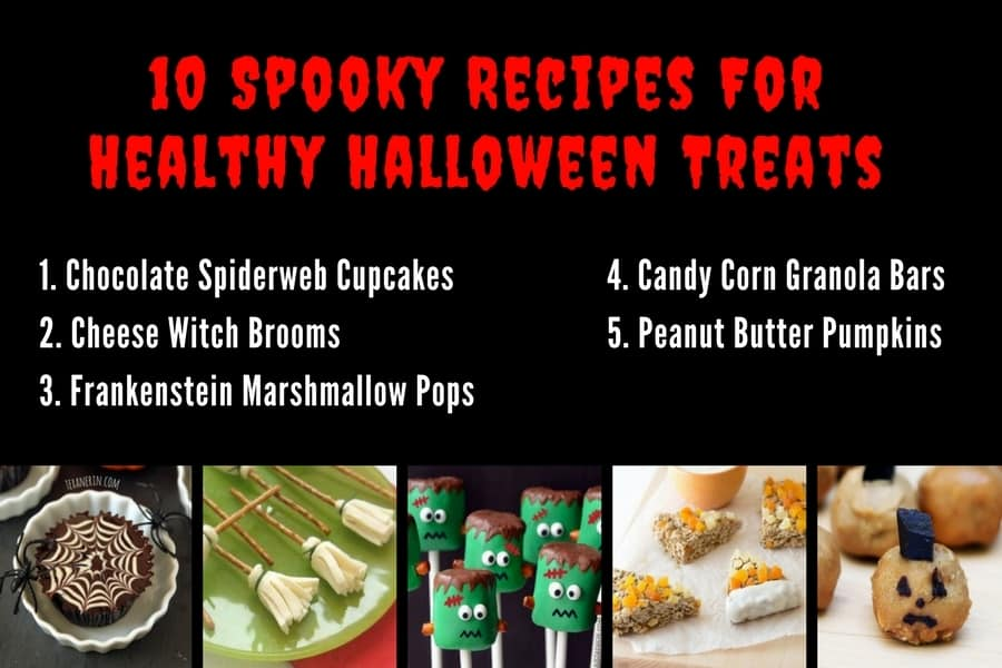 10 Spooky Recipes For Healthy Halloween Treats 1-