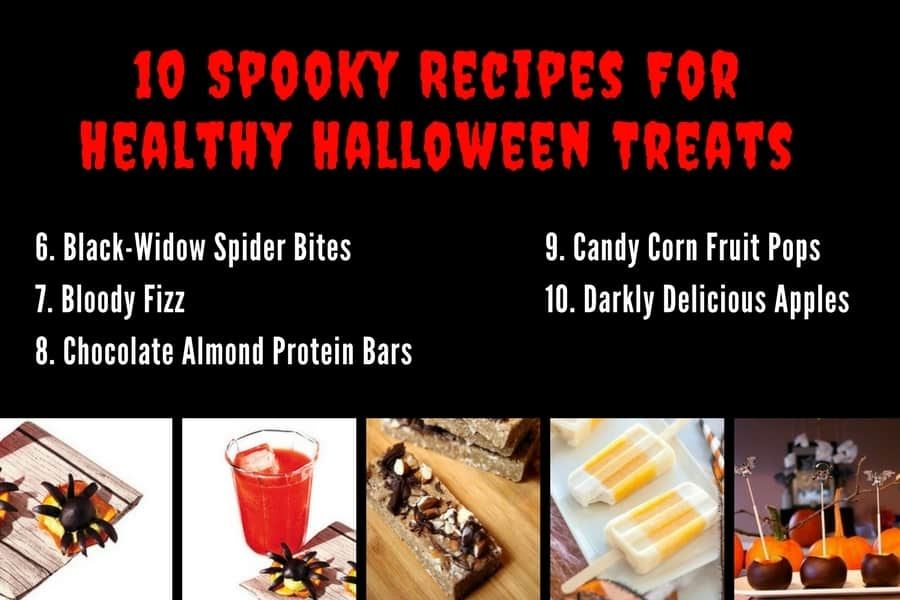 10 Spooky Recipes For Healthy Halloween Treats 6-10