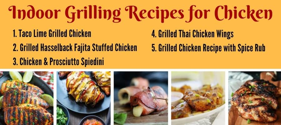 25 Favorite Low-Carb Indoor Grilling Recipes - Indoor Grilling Recipes for CHICKEN