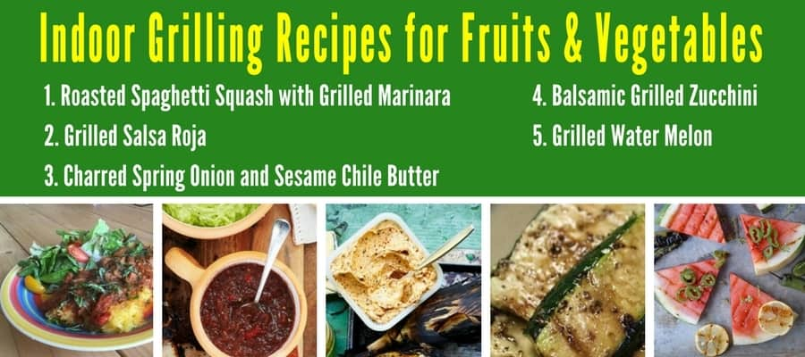25 Favorite Low-Carb Indoor Grilling Recipes - Indoor Grilling Recipes for VEGETABLES