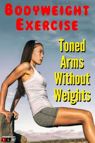 Bodyweight Exercise for Toned Arms 1