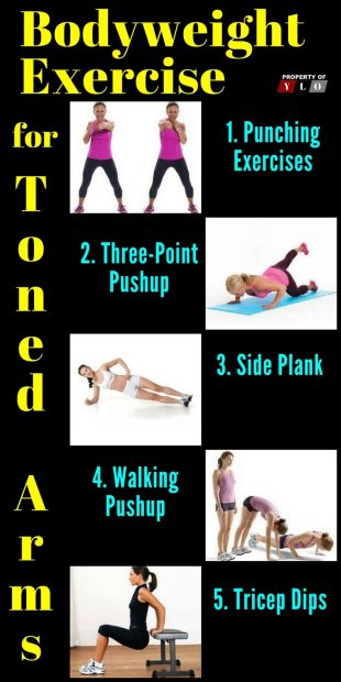Bodyweight Exercise for Toned Arms 4