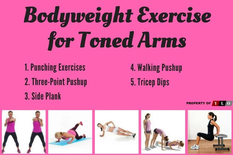 Bodyweight Exercise for Toned Arms