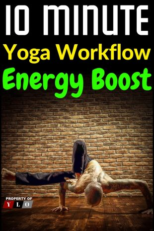 10 Minute Yoga Workflow Energy Booster 1
