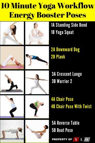10 Minute Yoga Workflow Energy Booster 4