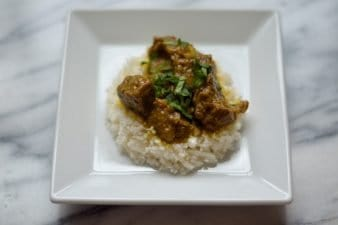Pulled Beef Recipes: 2. Spicy Beef Curry