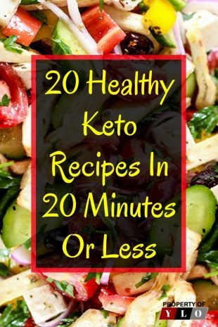 20 Keto Recipes Under 20 Minutes 2