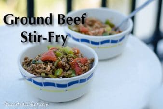 Pulled Beef Recipes: 4. Ground Beef Stir-Fry