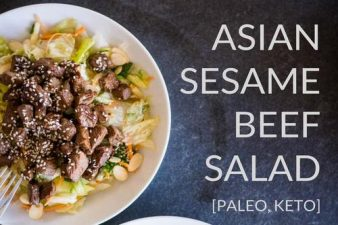 Pulled Beef Recipes: 5. Asian Sesame Beef Salad