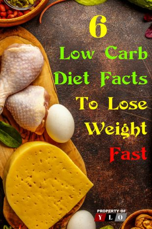 6 Low Carb Diet Facts To Lose Weight Fast 1