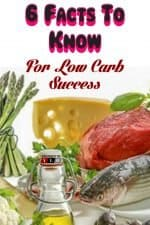 6 Low Carb Diet Facts To Lose Weight Fast 3