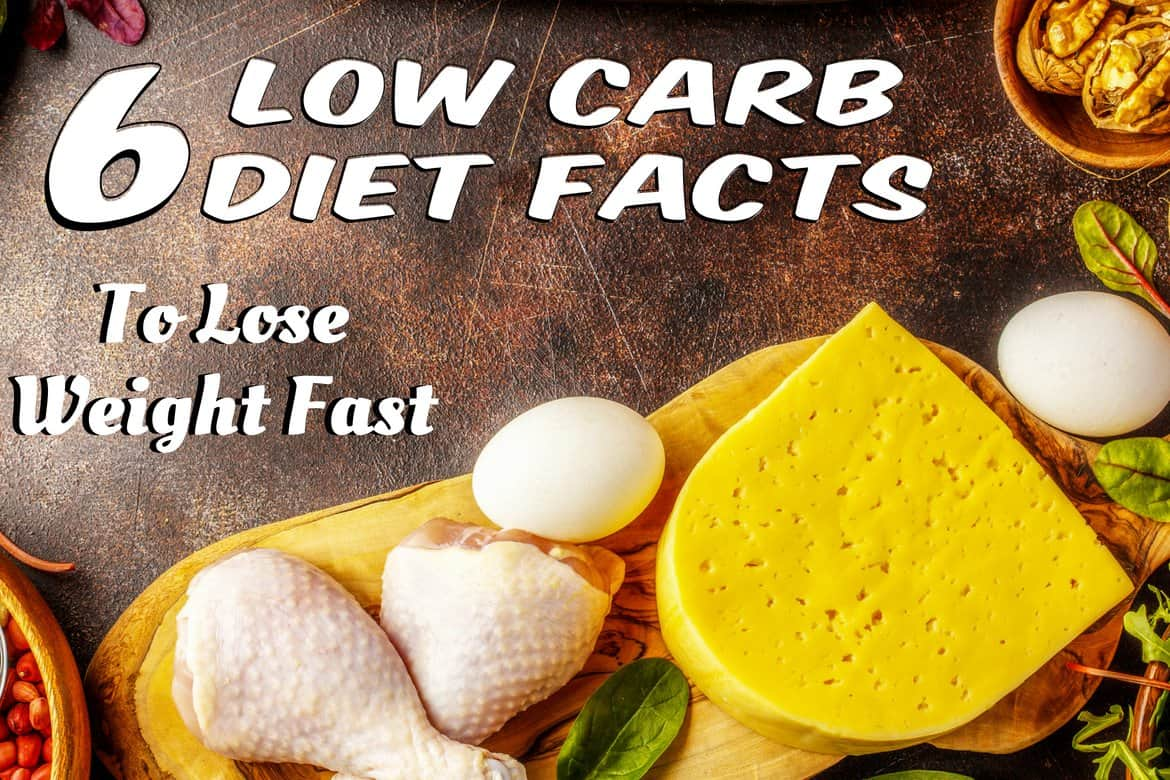 6 Low Carb Diet Facts To Lose Weight Fast | Your Lifestyle ...