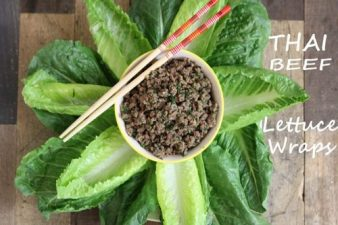 Pulled Beef Recipes: 6. Thai Beef Lettuce Wraps