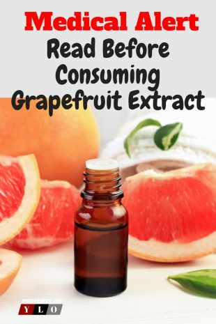 Medical Alert - Read Before Consuming Grapefruit Extract