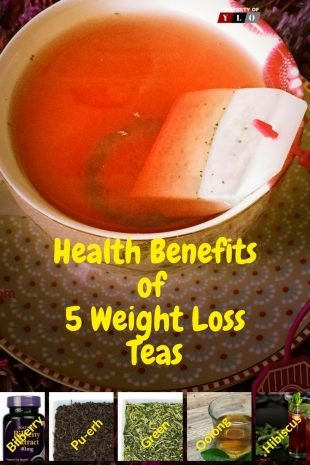 Health Benefits of the Top 5 Weight Loss Teas 1