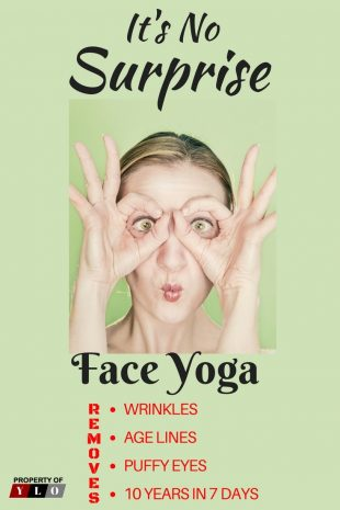 How to Look 10 Years Younger Using Face Yoga 5