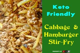 Keto Friendly Cabbage and Hamburger Stir-Fry
