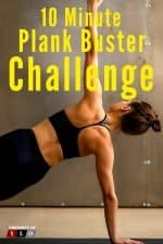 10 Minute Plank Buster Workout Challenge 2