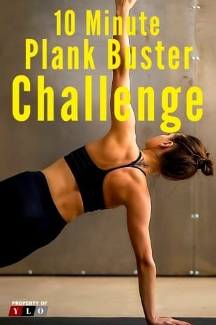 10 Minute Plank Buster Challenge