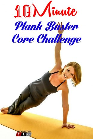 10 Minute Plank Buster Core Challenge