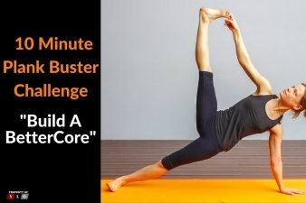 10 Minute Plank Buster Workout Challenge