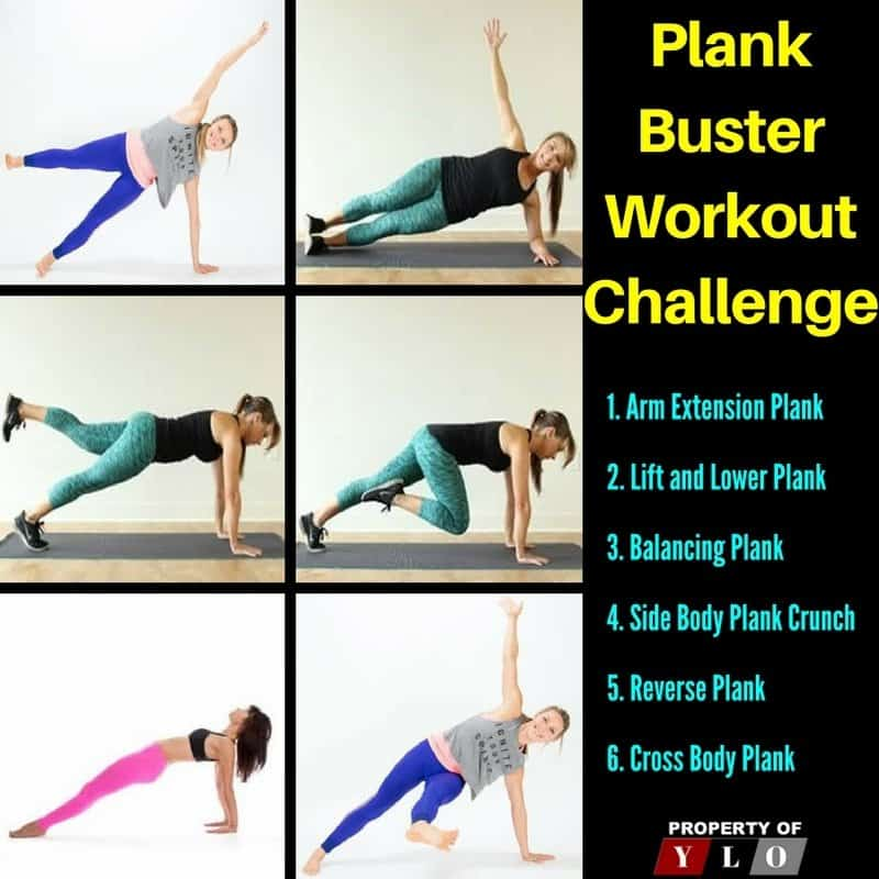 Plank Buster Workout Challenge