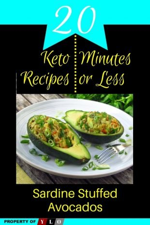 Sardine Stuffed Avocados - 20 Healthy Keto Recipes In 20 Minutes Or Less