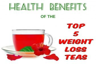 Health Benefits of the Top 5 Weight Loss Teas